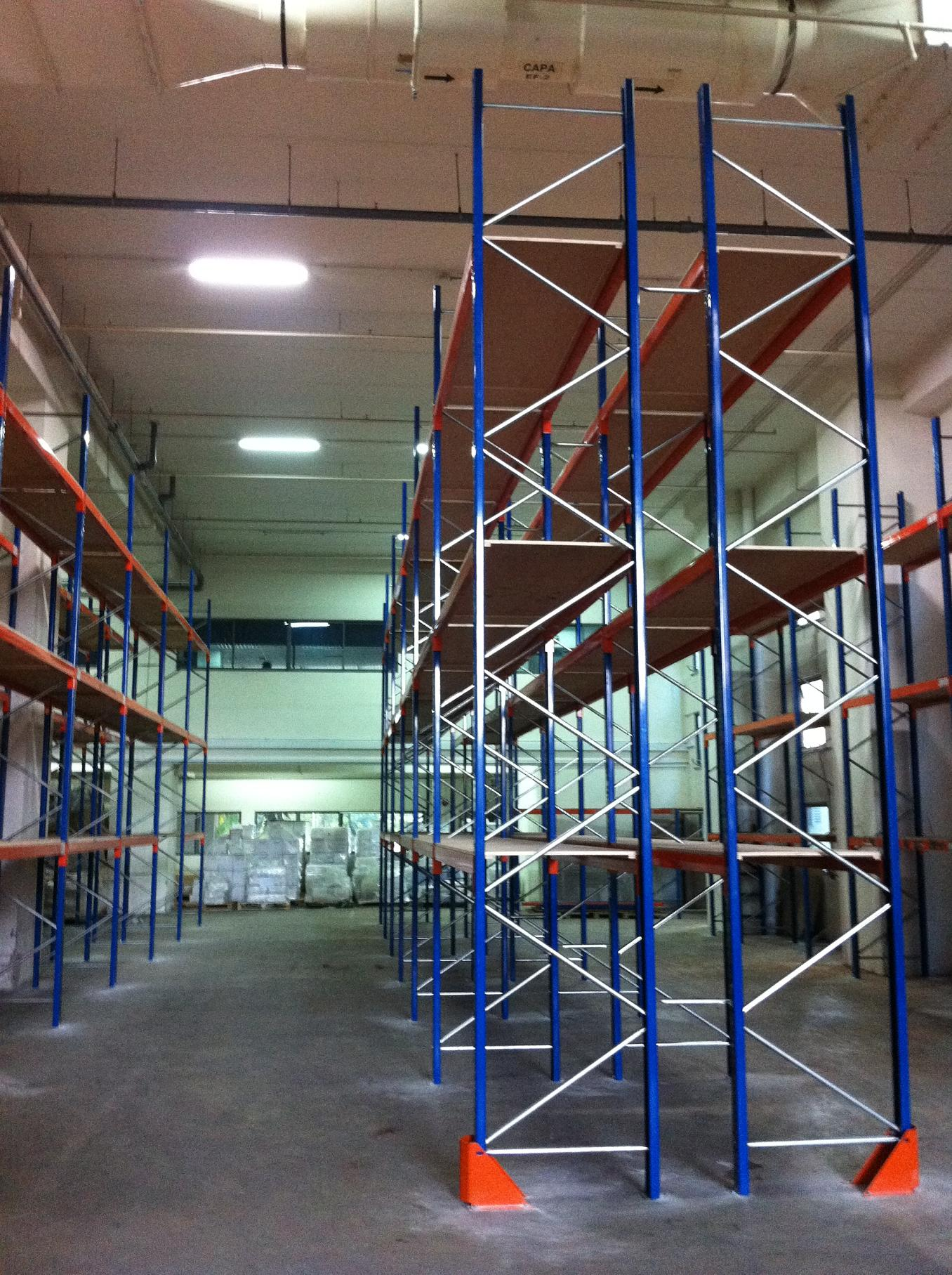 Adjustable Pallet Rackings Ace Mect
